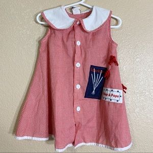 Other - The Bailey Boys 4th of July toddler girl dress 3T